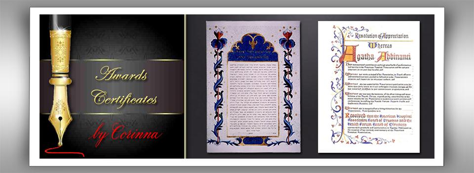 Awards and Certificates Slide Image